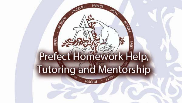 Prefect Homework Help, Tutoring and Mentorship